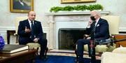ویدئو | لحظات جنجالی بایدن در دیدار با نخستوزیر اسرائیل