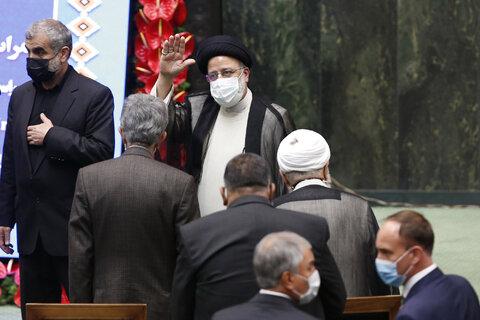 مراسم تحلیف سیزدهمین دوره ریاست جمهوری اسلامی ایران