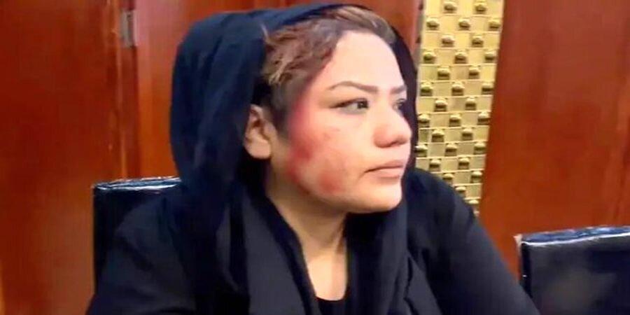 حمله طالبان به اعتراضات زنان در کابل