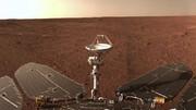 عکس پانورامای «ژورونگ» از مریخ پیش از خاموشی سیارهای
