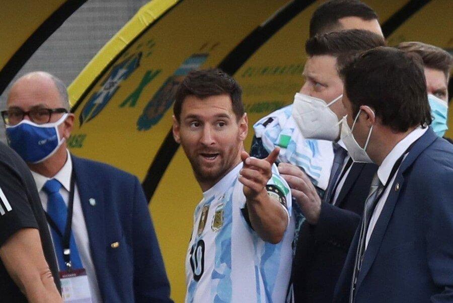 عکس | خشم مسی از لغو دیدار جنجالی | شما مقصرید!