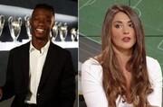 بازداشت برای توهین جنجالی به ستاره جدید رئال مادرید | میکروفنخانم مجری را لو داد!