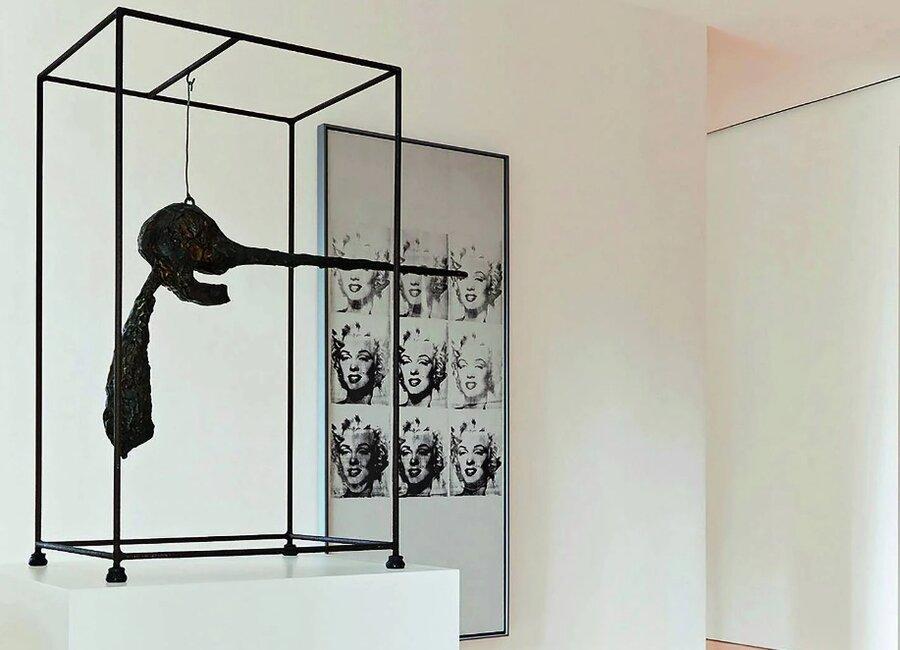 چوب حراج بر مجموعه ۶۰۰ میلیون دلاری شاهکارهای پیکاسو، وارهول و جاکومتی