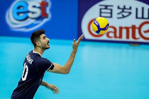 دیدار تیمهای ملی والیبال ایران و هنگ کنگ