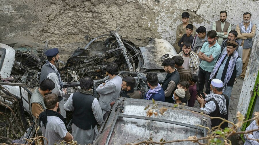 نقض ادعای آمریکا درباره انتقام از عامل انفجار فرودگاه کابل | نیویورک تایمز: آمریکا به اشتباه یک کارمند امدادرسانی را هدف قرار داده است