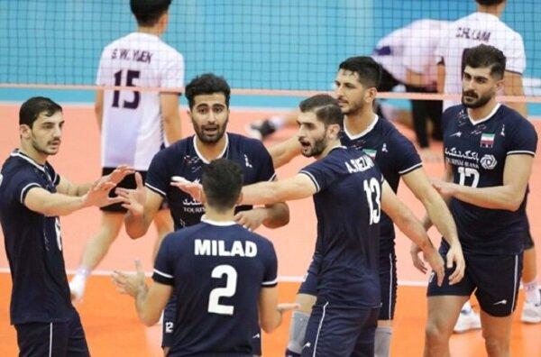برتری قاطع بلندقامتان ایران در برابر تایلند   دومین پیروزی شاگردان عطایی در والیبال قهرمانی آسیا