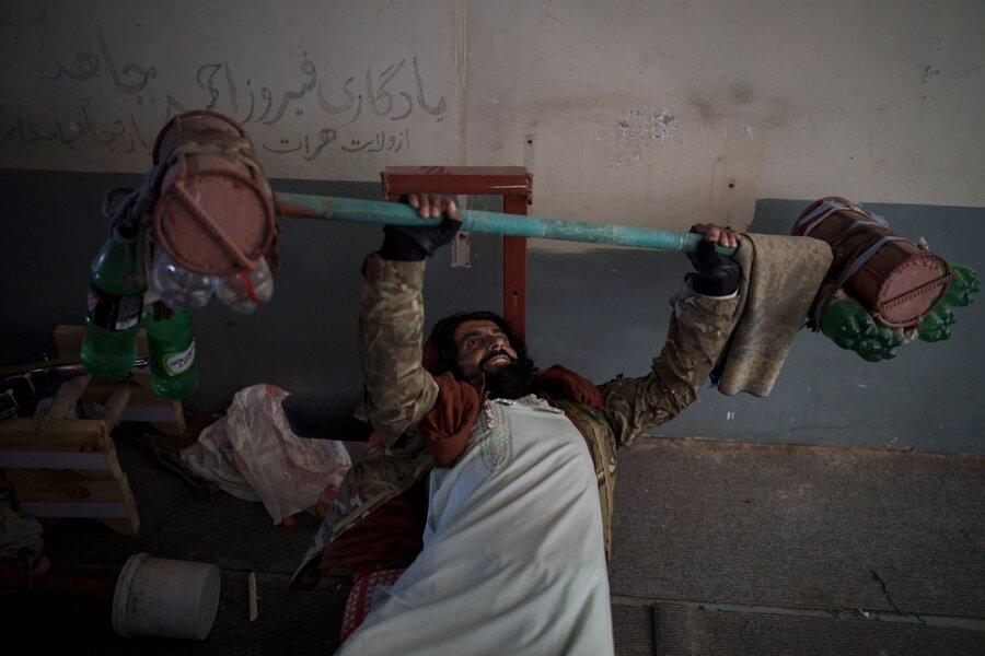 حضور مجدد طالبان در زندان کابل