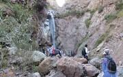 بازدید از آبشار زیبای کفترلو