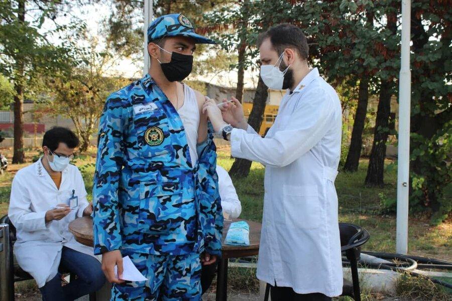 Irano :   40.000 soldatoj ricevas unuan dozon de korona vakcino |  Kien soldatoj iru por vakcini?