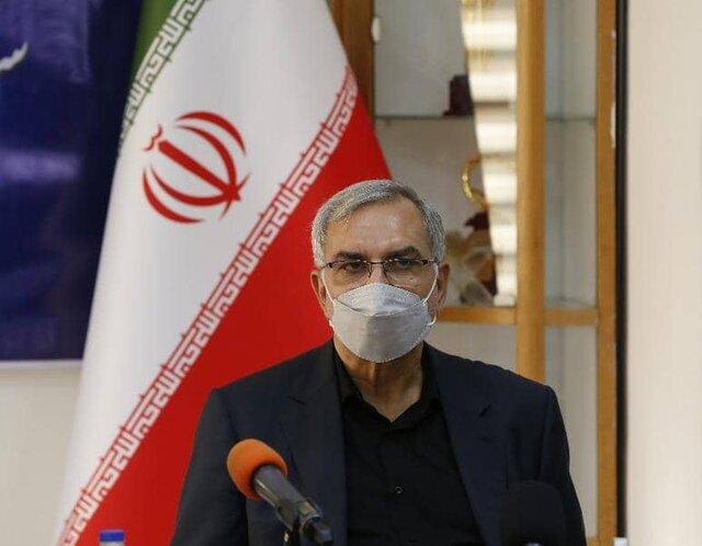 بهرام عیناللهی ـ وزیر بهداشت