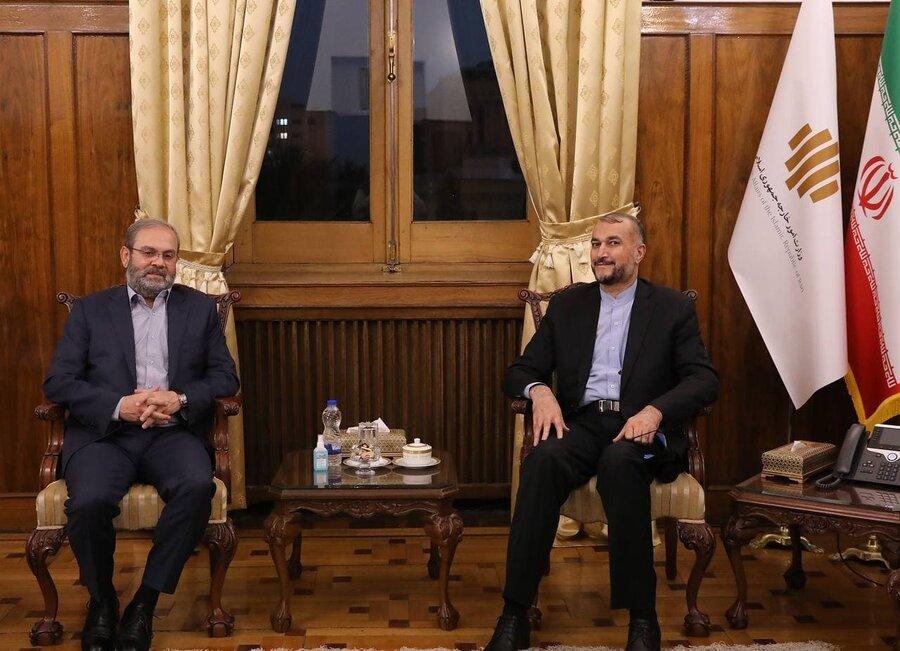 امیر عبدالهیان نماینده حزب الله لبنان