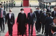 ویدئو | رئیسی وارد دوشنبه شد |  استقبال رسمی مقامات تاجیکستان از رئیس جمهوری ایران