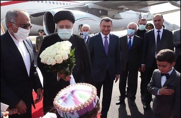 عکس | رئیسی وارد دوشنبه شد |  استقبال رسمی مقامات تاجیکستان از رئیس جمهوری ایران