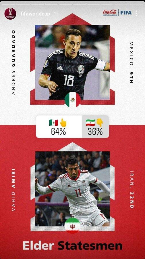 عکس | وحید امیری کنار ستاره سرشناس جهان روی صفحه رسمی جام جهانی