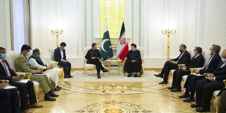 دیدار رئیسی با عمران خان