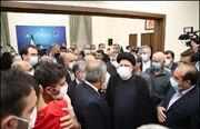 دیدار ایرانیان مقیم تاجیکستان با رئیس جمهور