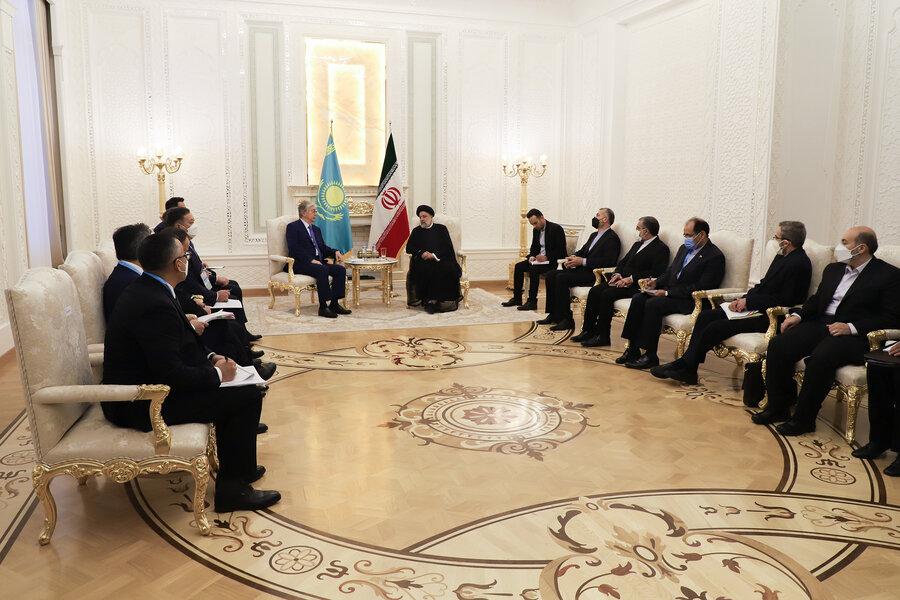 رئیس جمهور ایران و قزاقستان