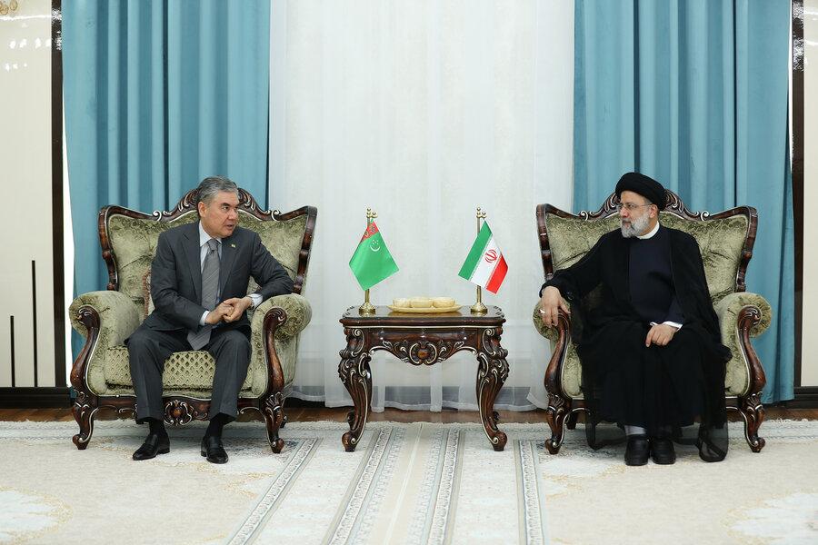 رئیس جمهور ایران و ترکمنستان