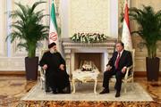 دیدار رئیسی با رئیس جمهوری تاجیکستان | باید روابط همهجانبه بین ۲ کشور فارسیزبان پایهگذاری شود