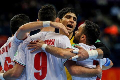 دیدار تیمهای ملی فوتسال ایران و آمریکا