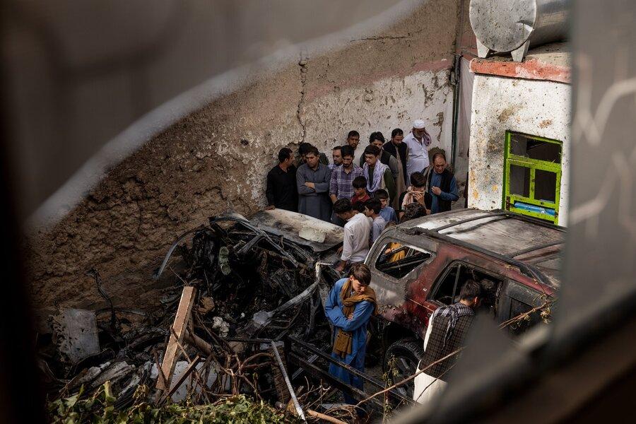 اعتراف آمریکا:  حمله پهپادی در کابل باعث مرگ غیرنظامیان بیگناه شد
