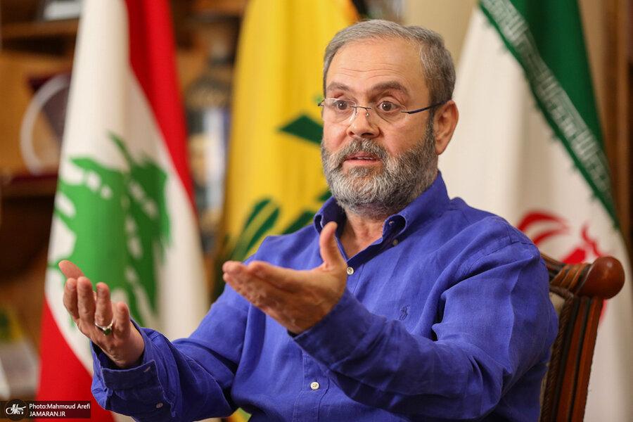 صفی الدین عبدالله نماینده حزب الله در ایران