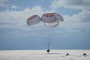 چهار مسافر خصوصی اسپیسایکس از فضا به زمین بازگشتنند