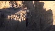 ویدئو| عمامه روحانی باعث نجات مرد اصفهانی شد