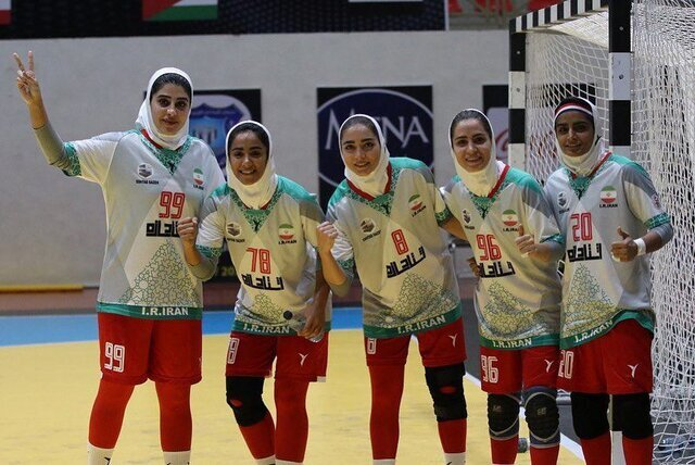 صعود تاریخی دختران هندبالیست ایران به مسابقات جهانی