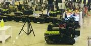 ویدئو | نمایشگاه دستاوردهای راهبردی سپاه در حوزه چک و خنثیسازی بمب