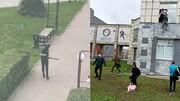 ویدئو | اولین فیلم از دانشجوی مسلح در دانشگاه روسیه