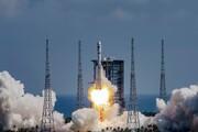 فیلم| پرتاب سفینه باربری به سوی ایستگاه فضایی چین