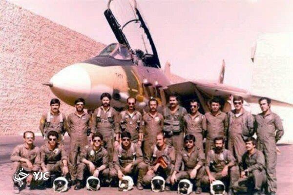 تصاویر   این خلبان ایرانی که فقط ۱۰ ساعت پس از تجاوز بعثیها به ایران پاسخ آنها را داد