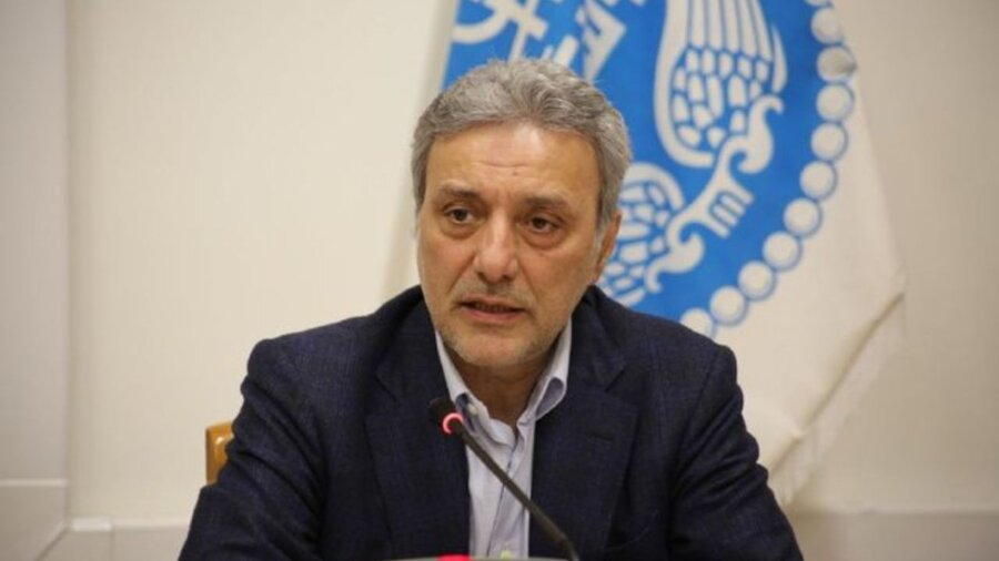 محمود نیلی احمدآبادی ـ رئیس دانشگاه تهران