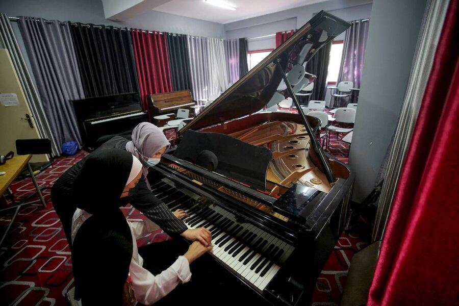 حال تنها پیانوی بزرگ غزه خوب است   سرنوشت شگفت یک ساز ارزشمند در سرزمین فلسطین