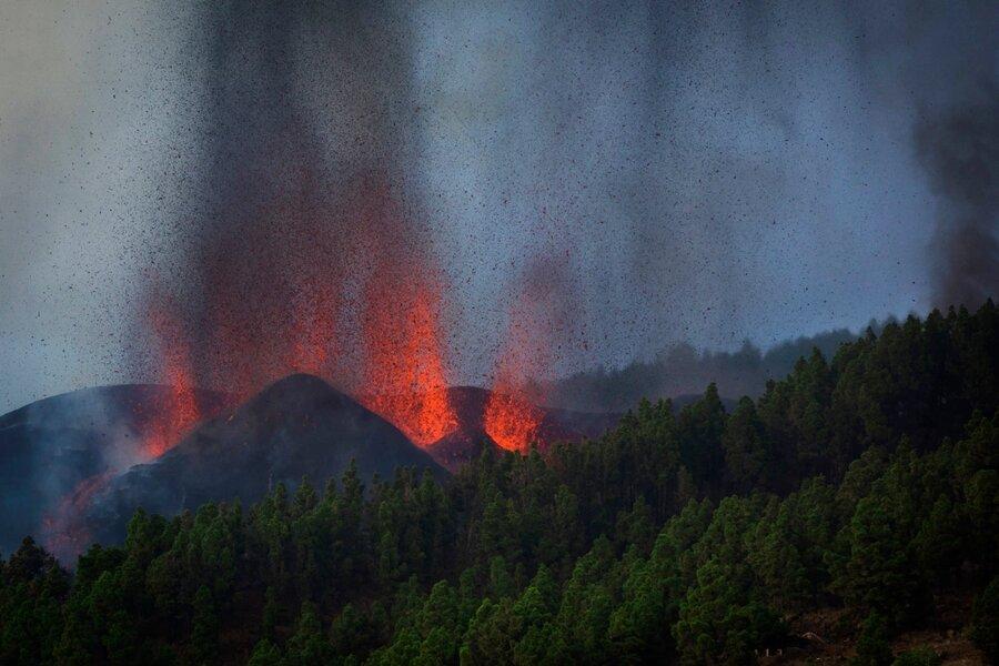 آتش فشان جزایر قناری