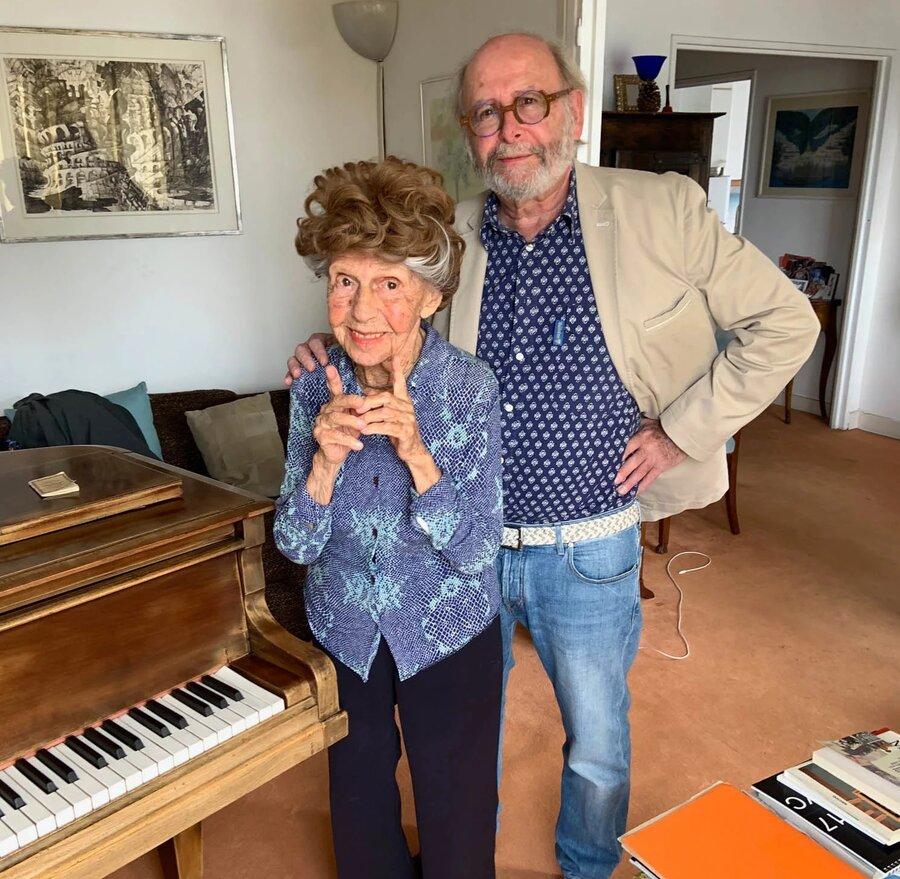 پیانیست 107 ساله