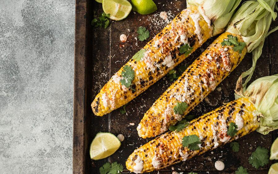 Mexican corn - ذرت مکزیکی - بلال