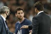 عکس | مسی و پوچتینو بعد از تعویض جنجالی رفیق شدند!