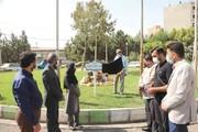 برگزاری آیین نامگذاری میدان شهید ماجدی در منطقه ۱۶