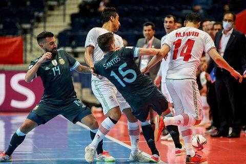 دیدار تیمهای ملی فوتسال ایران و آرژانتین