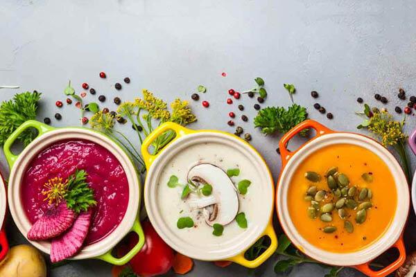 سوپ - soups