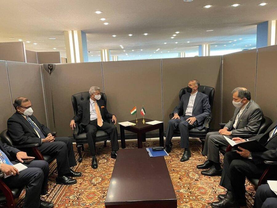 وزیران خارجه ایران و هند