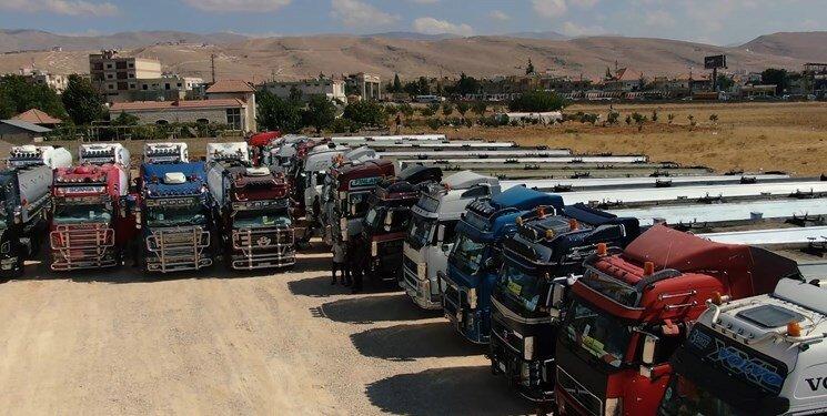 کاروان سوخت ایران در لبنان