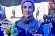 شگفتی در تاریخ سنگنوردی ایران | الناز رکابی به نخستین مدال جهانی زنان رسید