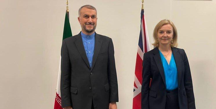 وزرای خارجه ایران و انگلیس