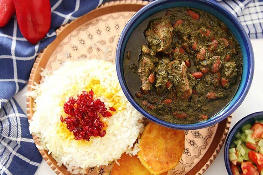 قورمه سبزی - قرمه سبزی - ghorme sabzi