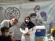 ویدئو |تزریق واکسن به مردم توسط شهردار تهران