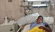 تسلیت وزیر بهداشت برای درگذشت پسر فداکار خوزستانی | تمام هزینههای علی لندی پرداخت میشود