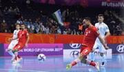 صعود نفسگیر ایران به جمع ۸ تیم پایانی جام جهانی فوتسال
